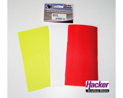 Parches RC-Flair rojo/lime